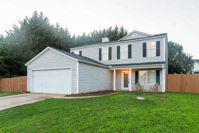 Simpsonville Single Family Home For Sale: 3 Hideaway Ct