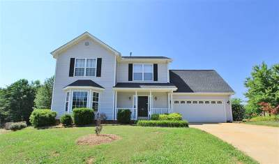 Greer Single Family Home For Sale: 812 Canton Ct.