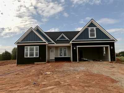 Inman Single Family Home For Sale: 1207 Sloan Rd Lot 2