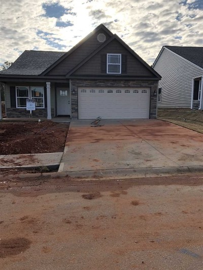 Inman Single Family Home For Sale: 353 Trail Crossing Lane - Lot 84