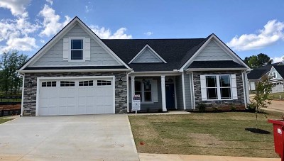 Inman Single Family Home For Sale: 157 Southern Oaks Drive - Lot 28