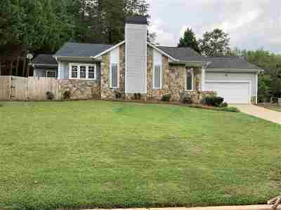 Spartanburg SC Single Family Home For Sale: $146,900