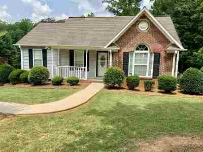 Spartanburg Single Family Home For Sale: 212 Cotton Creek Drive