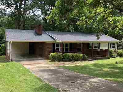 Spartanburg SC Single Family Home For Sale: $136,900
