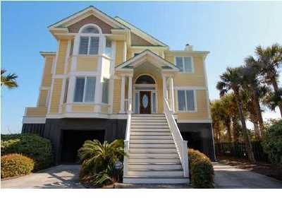 Isle Of Palms Single Family Home For Sale: 810 Ocean Boulevard