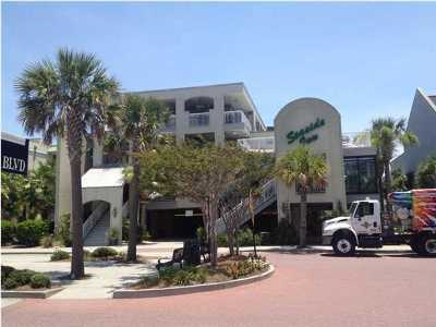 Isle Of Palms Attached For Sale: 1004 Ocean Boulevard #111
