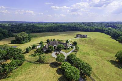 Single Family Home For Sale: 822 Poplar Springs Road