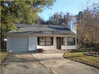 Summerville Single Family Home Contingent: 325 Macgregor Drive