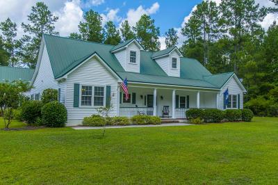 Walterboro Single Family Home For Sale: 626 Benton Farm Road