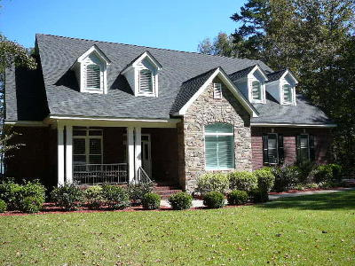 Single Family Home For Sale: 1806 Old River Road