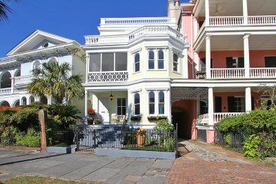 Charleston Single Family Home For Sale: 24 S Battery Street