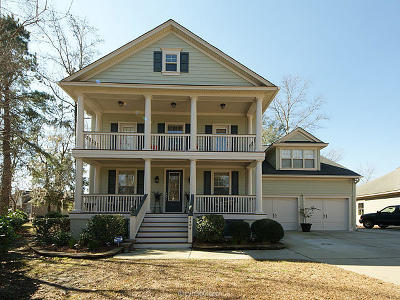 North Charleston Single Family Home For Sale: 5404 Walking Stick Lane