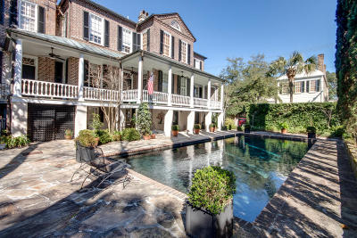 Charleston Single Family Home For Sale: 71 Anson Street