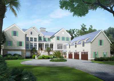 Isle Of Palms Single Family Home For Sale: 2401 Waterway Boulevard