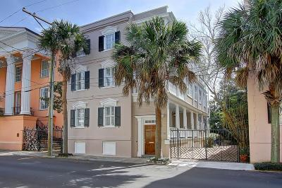 Charleston Single Family Home For Sale: 57 Society Street