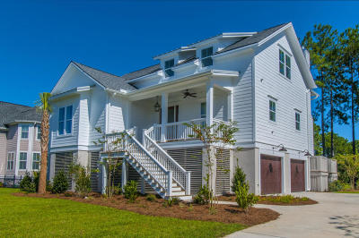 Seabrook Island Single Family Home For Sale: 1009 Old Wharf Road