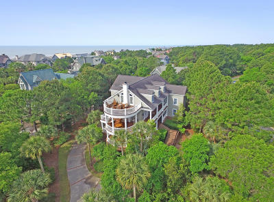 Kiawah Island Single Family Home For Sale: 212 Ocean Marsh Road