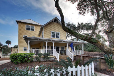 Isle Of Palms Single Family Home Contingent: 81 Seaside Cottage Lane