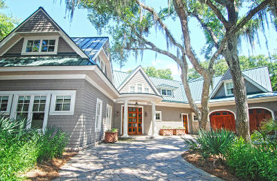 Seabrook Island Single Family Home For Sale: 2402 High Hammock Road
