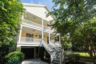 Charleston Single Family Home Contingent: 1620 Bull Creek Lane