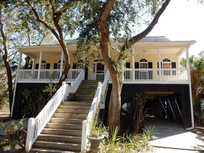 Edisto Island Single Family Home Contingent: 982 Hammocks Way