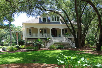 Seabrook Island Single Family Home For Sale: 2857 Baywood Drive
