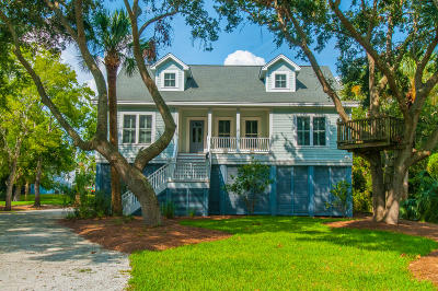 Edisto Beach Single Family Home For Sale: 3120 Myrtle Street
