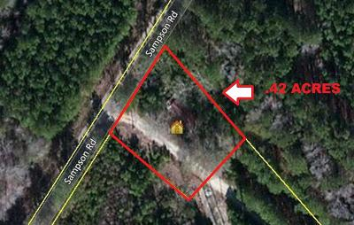 Residential Lots & Land Contingent: 336 Sampson Road