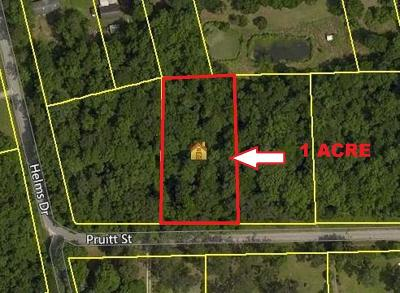 Residential Lots & Land For Sale: 1 Pruitt Street