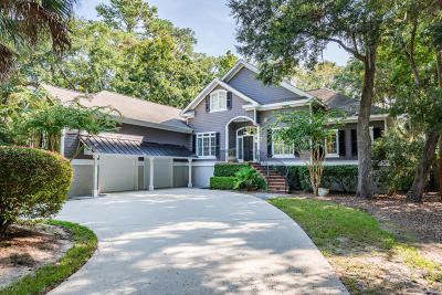 Seabrook Island Single Family Home For Sale: 2916 Baywood Drive