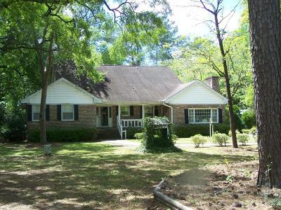 Charleston Single Family Home For Sale: 1329 N Edgewater Drive