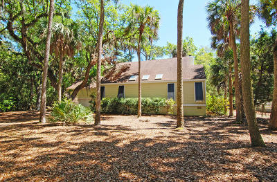 Seabrook Island Single Family Home For Sale: 2713 Seabrook Island Road