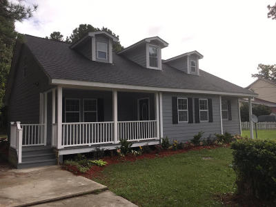 Mount Pleasant Single Family Home Contingent: 1520 Boston Grill Road