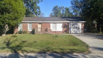 North Charleston Single Family Home For Sale: 8772 Auburn Drive