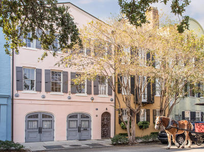 Charleston Single Family Home For Sale: 91 & 91.5 East Bay Street