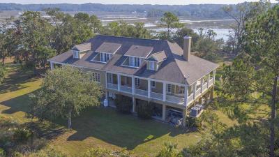 Edisto Island Single Family Home For Sale: 753 Palmetto Pointe Road
