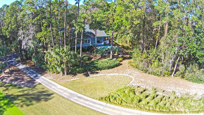 Seabrook Island Single Family Home For Sale: 2550 The Haul Over