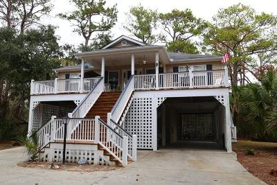 Edisto Island Single Family Home For Sale: 865 Club Cottages