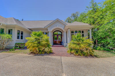 Seabrook Island Single Family Home For Sale: 2412 High Hammock Road