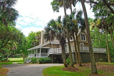 Seabrook Island Single Family Home For Sale: 2736 Seabrook Island Road