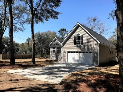 Charleston County Single Family Home Contingent: 1810 Laura Creek Road