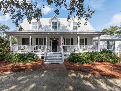 Edisto Island Single Family Home For Sale: 8628 Middleton Point Lane