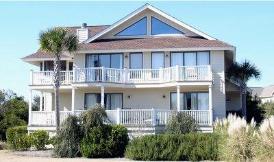 Seabrook Island Single Family Home For Sale: 3751 Beach Court