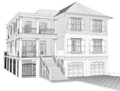 Isle Of Palms Single Family Home For Sale: 3404 Hartnett Boulevard