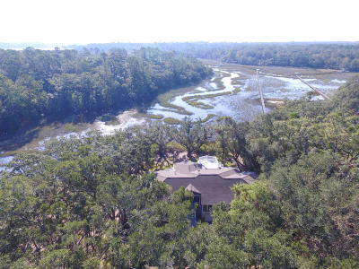 Wadmalaw Island Single Family Home For Sale: 6556 Southmount Road