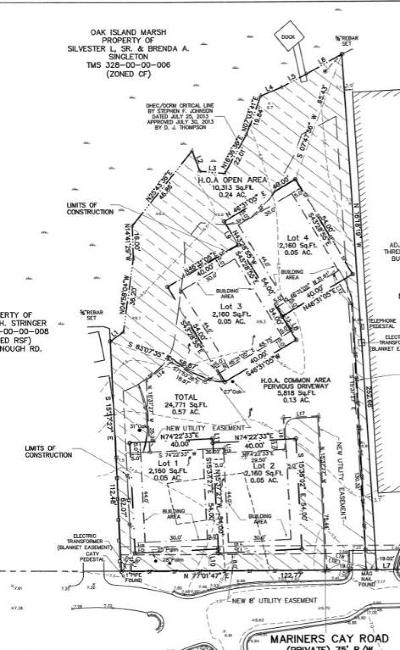Residential Lots & Land For Sale: 14 W Mariners Cay Drive