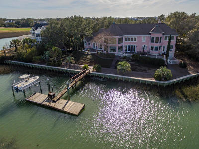 Isle Of Palms Single Family Home For Sale: 3 Waterway Island Drive