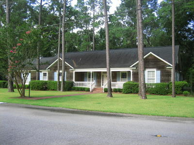 Walterboro Single Family Home For Sale: 109 Silverhill Road