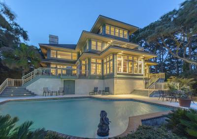 Kiawah Island Single Family Home For Sale: 6 Ocean Course Drive