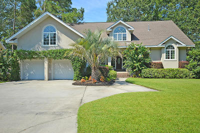 North Charleston Single Family Home For Sale: 8855 E Fairway Woods Dr